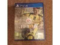 PS4 FIFA 17 brand new sealed in cellophane