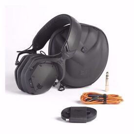 V-Moda Crossfade Wireless 2 (Matte Black Metal) With XL Cushions and Boom Pro Mic