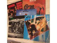 Rock starter set of Vintage Vinyl LPs - Queen - Meatloaf etc