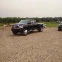 2012 dodge 3500 mega cab dually limited