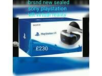 Brand new sealed sony playstation VR virtual reality