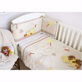 Brand New Suzys Zoo Bed Quilt & Bumper Set - Part of a co-ordinated Nursery Range
