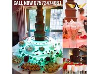 Wedding Chocolate Fountain Hire Available for any Occasion | Birthdays | Weddings | Nationwide