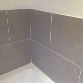 RAK Porcelain Tiles 60 X 30 in polished grey, new condition