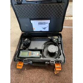 Glue gas analyser