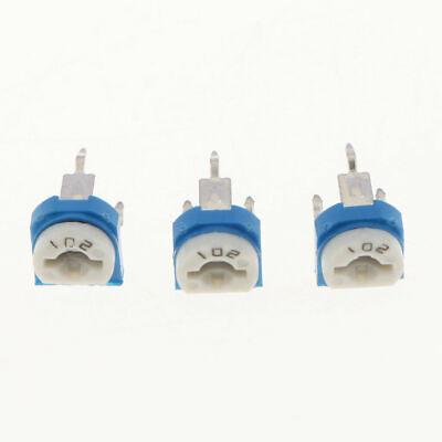 20pcs 1k 102 Adjustable Resistor Trimmer Potentiometer Rm065 - Us Seller