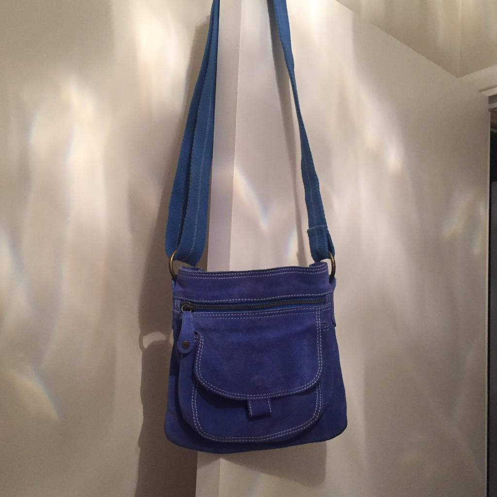 Fat Face suede summer casual bag