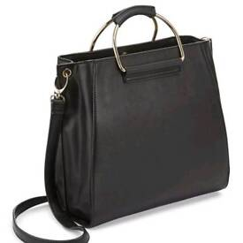 Brand new Miss selfridge tan tote bag Never used