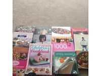 collection of 13 hardback cookery books cost £200 retail all exc / v good cond