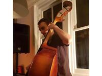 Double bass/ electric bass tuition, £10 per session, approximately 40 minuets.