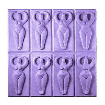 Milky Way Moon Goddess Soap Mold Tray, NEW. Clear PVC. 8 Full Size Bars