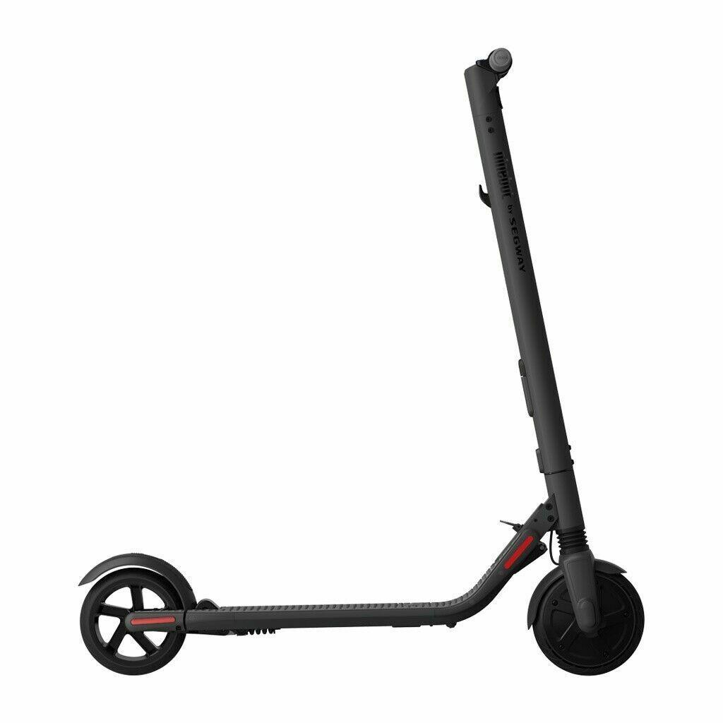 Segway Ninebot SEG-ES2 Scooter, Elektrischer Scooter KickScooter Dark Schwarz