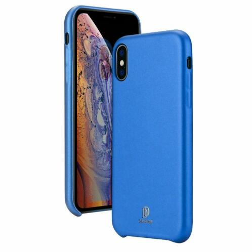 iPhone X / XS hoes - Dux Ducis Skin Lite Back Cover - Blauw
