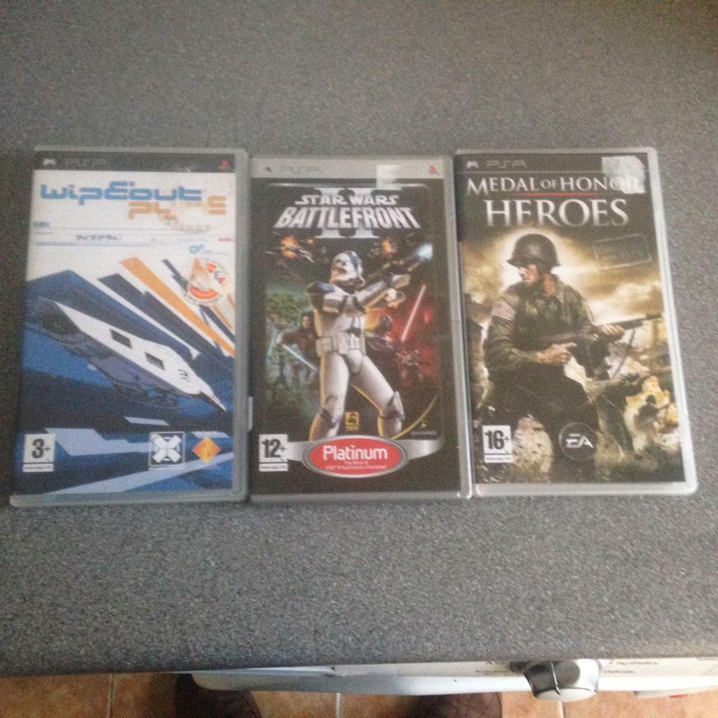 Sony PSP games collection