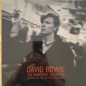 David Bowie - The Broadcast Collection 3LP Box Set