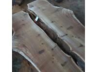 Huge selection of local timber sawn and barn dried