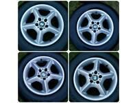 Alloys wheels 17' Bmw 4x4