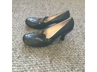 Bertie heeled shoes, size 8 and never worn