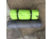 Inflatable camping mats
