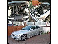 BMW 3series. E36. 323i. Auto. 1yr mot. SWAPS.