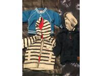 Baby boys hoodie bundle