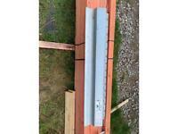 3 Steel lintels ( 1200 - 1500 - 2100 )