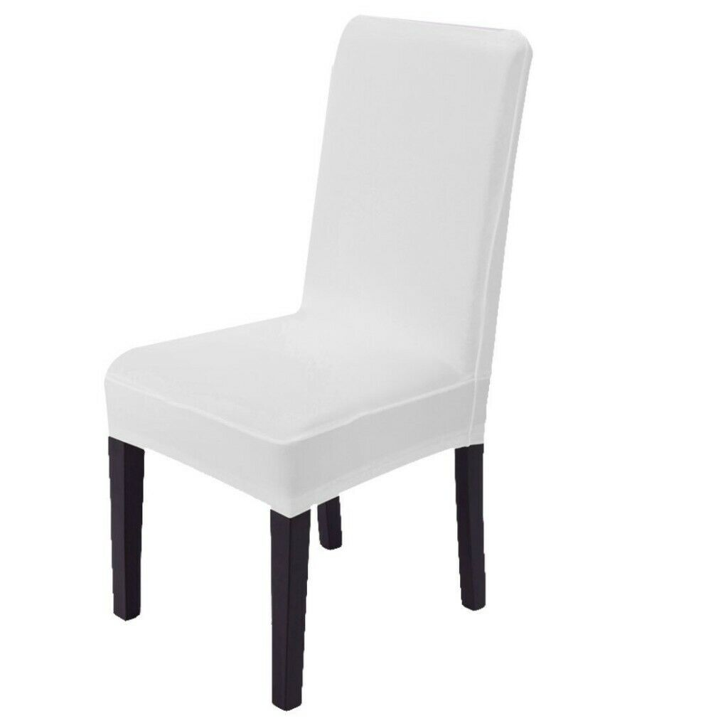 Pleasing Stretchy Dining Chair Cover Washable Protector Seat Slipcover White In Teddington London Gumtree Pdpeps Interior Chair Design Pdpepsorg