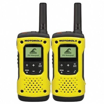 Motorola Tlkr T92 H2O PMR446 2-Way Walkie Talkie Waterproof Radio Twin Pack