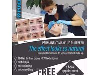 Permanent make-up , microneedling, eyelashes , nails , pedicure