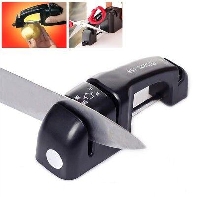 FuMin Global BLACK World's Best Knife Sharpener Brand New Genuine UK
