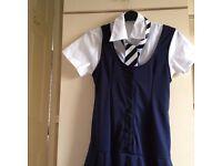 SCHOOL GIRL UNIFORM FANCY DRESS