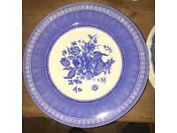 Mixed vintage crockery - dinner plates etc - 86 pieces