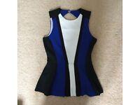 H&M Chelsea Blue Top Size 6