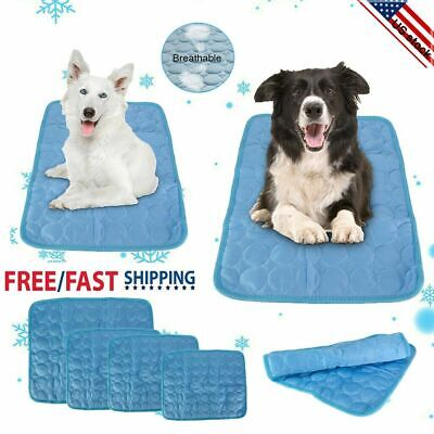 Indoor Outdoor Self-Cooling Gel Mat For Floor Bed Crate Cool Dog Cushion Pad Hot