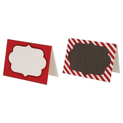 New  12PK Spritz Christmas Chalkboard Place cards tperfect for Weddings Birthday