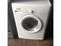Whirlpool washing machine,£75.00,7 kg load.