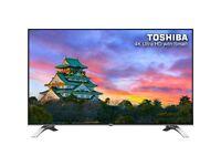 Brand New Sealed Toshiba 55U6663DB 55 Inch 4K Ultra HD LED Smart TV