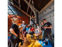 Drillaz Circus School Seniors - Circus Classes for 12-18 year olds
