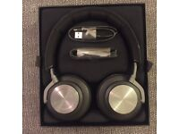 NEW! B&O PLAY by Bang & Olufsen Beoplay H7 Wireless Over-Ear Headphones - Black Leather