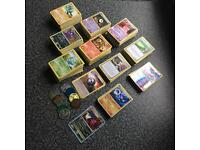 MASSIVE POKEMON TRADING CARD COLLECTION - HUNDREDS OF CARDS