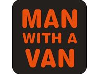 MAN AND A VAN at a fair price. From a Single item to Full loads. 1 man or 2 men. House Moves.