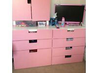 Pink draws STUVVA ikea