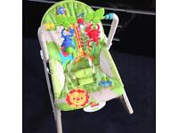Baby to toddler rocker chair by fisher price