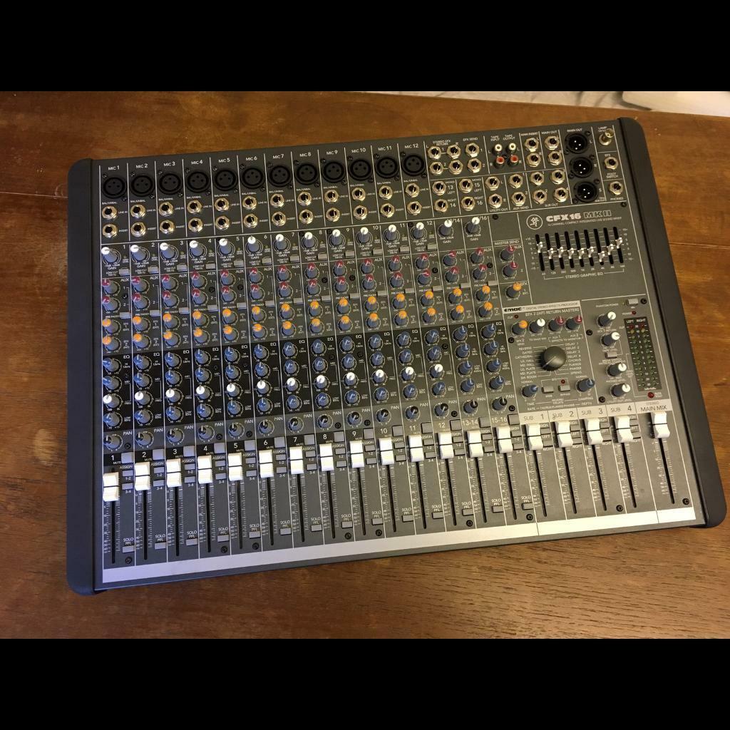 Mackie ProFX16v2 analogue mixing desk | in Northam, Devon | Gumtree