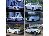 Rolls Royce Hire wedding Cars