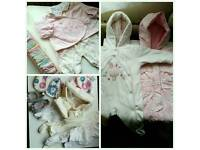 Baby girls clothes newborn mostly new dresses age 0-3