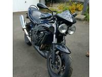 Triumph Speed Four 600cc Black Sports Naked Motorbike