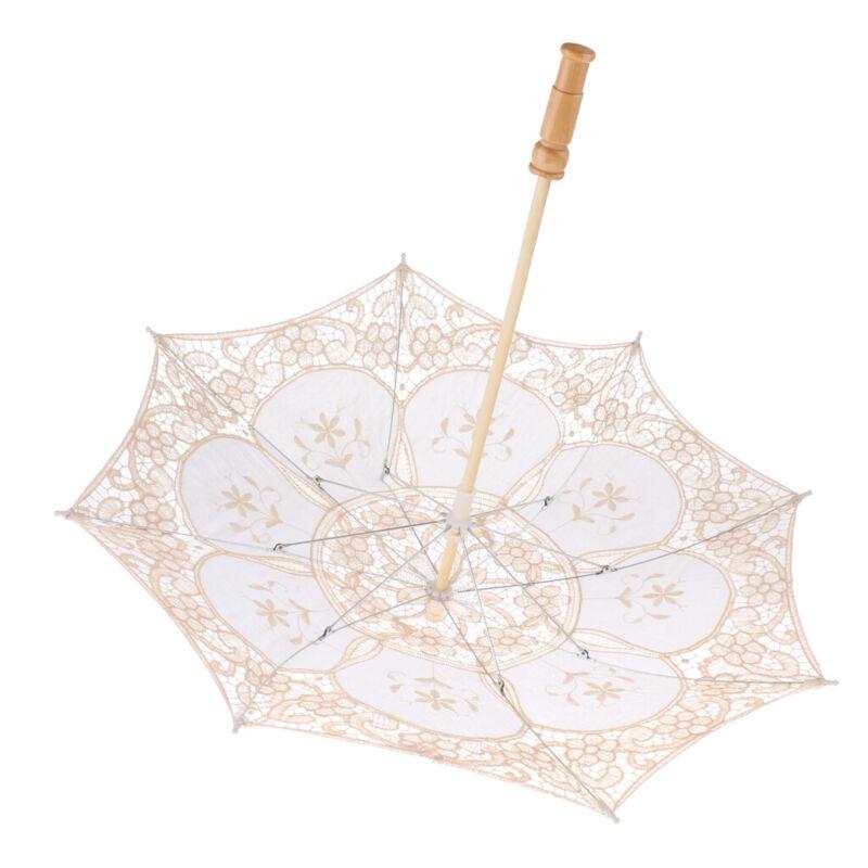 Small European Style Wedding Photograph Lace Umbrella Parasol Party Costume