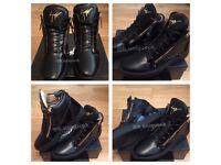 Giuseppe Zanotti Jessipes High Top Men Women's Boys Girls Trainers Shoes Footwear Various Sizes