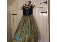 Girls Anna dress age 9-10 yrs